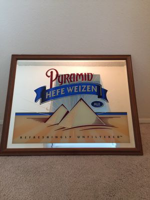 Vintage pyramid hefe weizen Mirror for Sale in Seattle, WA