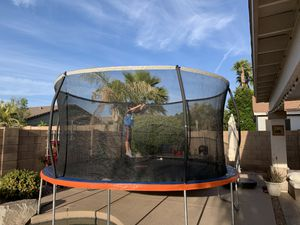 Trampoline 14ft with enclosure for Sale in Chandler, AZ