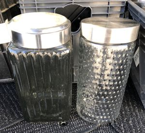 6 Tall Glass Jars for Sale in East Bridgewater, MA