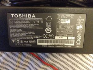Toshiba laptop charger for Sale in Renton, WA