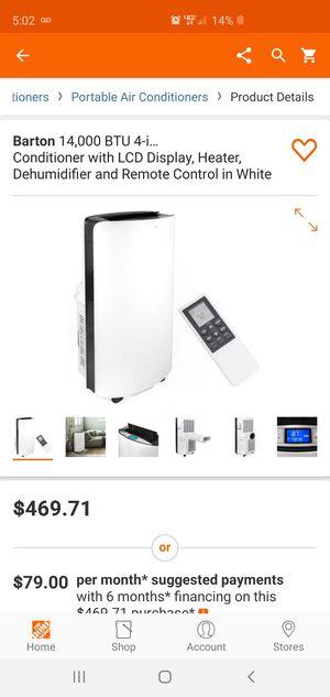 4 in 1 Air conditioner/ heater/ dehumidifier/ fan for Sale in Riverside, CA