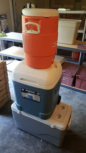 Three coolers (set) for Sale in Port Orchard, WA