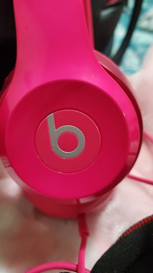 Pink beats by Dre headphones for Sale in Stockton, CA