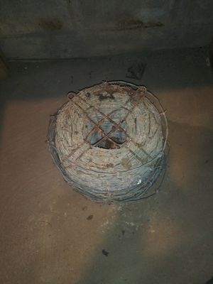 Large roll of barbbed wire for Sale in Memphis, TN