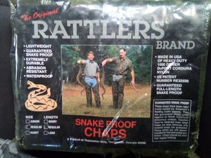 Brand new Rattlers snake proof chaps for Sale in Gulfport, MS