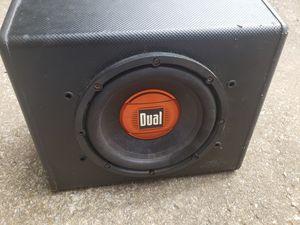 "Dual 10"" subwoofer for Sale in Smyrna, TN"