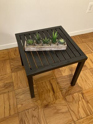 Indoor/Outdoor Metal side table for Sale in Washington, DC