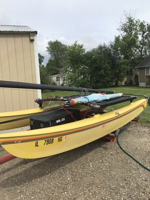 16' Hobie Cat Sailboat for Sale in Johnsburg, IL