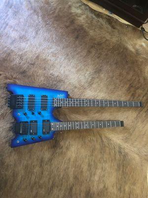 Big john custom double neck bass and guitar for Sale in Nashville, TN