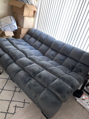 2 suede couch chairs for Sale in San Francisco, CA