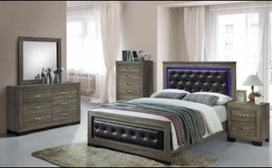Brand new queen size bedroom set $599. Financing available for Sale in Hialeah, FL