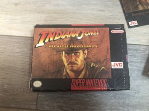 Indiana Jones Greatest Adventures -Super Nintendo Game for Sale in Rochester, NY
