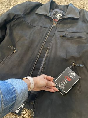 Furygan. New Texas leather jacket motorcycle for Sale in Corona, CA