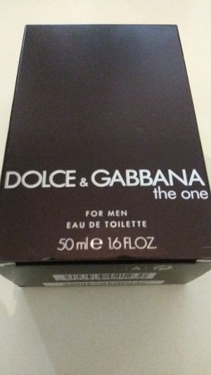 Brand new(never used) dolce & gabbana the one 50ml 1.6floz cologne in great shape and condition just need gone please its(urgent) for Sale in Pinellas Park, FL