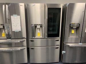Brand New 4 Door LG Instaview Refrigerator 29.7 for Sale in Phoenix, AZ