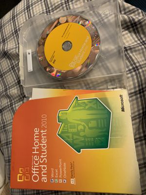 Microsoft Office Home and Student 2010 Family Pack for Sale in Bellevue, WA