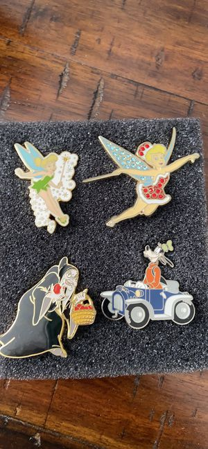 Authentic Disney pins for Sale in Bolingbrook, IL