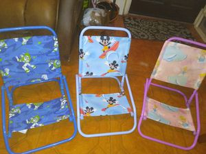 Kids Beach Chairs x4 for Sale in Tampa, FL