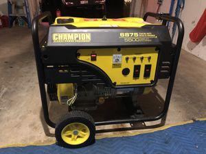 Champion Generator for Sale in Seattle, WA
