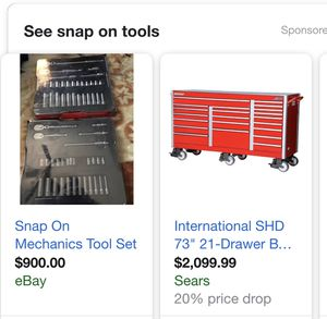 Mac& snap on tools and misc for Sale in Lakewood, OH