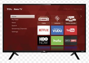 "Roku tv Tcl ! Like new! 32"" for Sale in Earlimart, CA"