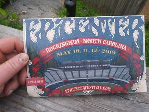 Concert tickets Epic Center for Sale in Rossville, GA