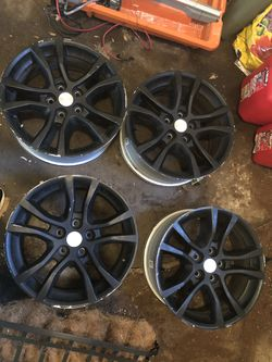18x7.5 wheels $50 price drop! From 300! for Sale in Normal,  IL