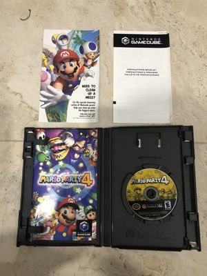 Mario Party 4 Gamecube Mint! for Sale in Davie, FL
