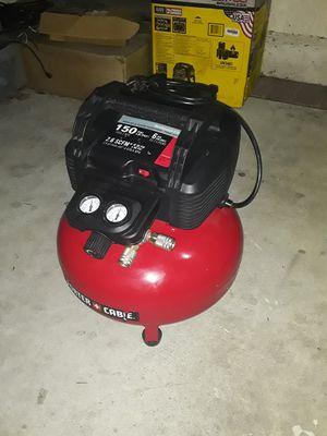 Porter cable 6 gallon pancake compressor for Sale in Stanton, CA