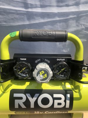 RYOBI 18-Volt ONE+ Cordless 1 Gal. Portable Air Compressor (Tool-Only) for Sale in La Habra, CA
