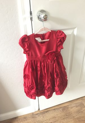 Girl toddler red fancy dress / kids clothing for Sale in Gila Bend, AZ