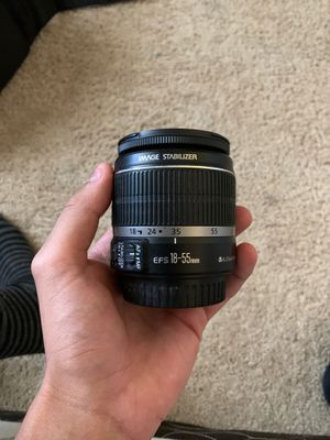 Canon 18-55mm lens for Sale in Bakersfield, CA