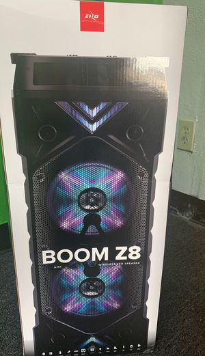Zizo Boom Z8 Bluetooth speaker! for Sale in Victoria, TX