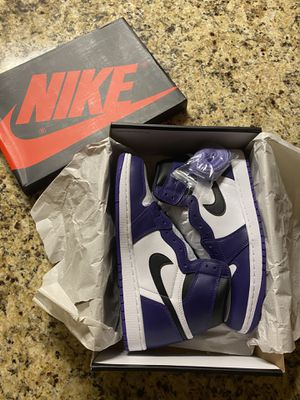 Jordan 1 Purple Court ‼️ for Sale in Socorro, TX