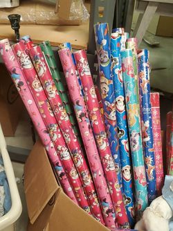 10 Christmas Wrapping Paper for Sale in Lilburn,  GA