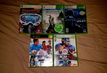 5 Xbox 360 Games for Sale in Waynesboro,  VA