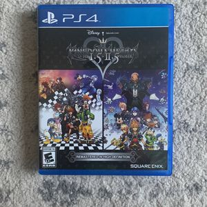 Kingdom Hearts 1.5 + 2.5 Remix - PS4 for Sale in East Los Angeles, CA