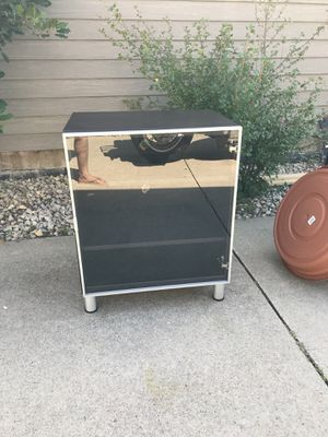 REDUCED PRICE: Display Shelves with Glass Door PPU for Sale in Rochester, MN