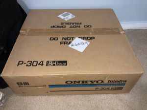 Onkyo Integra P-304 Preamplifier Brand New NOS $1,000 for Sale in Queens, NY