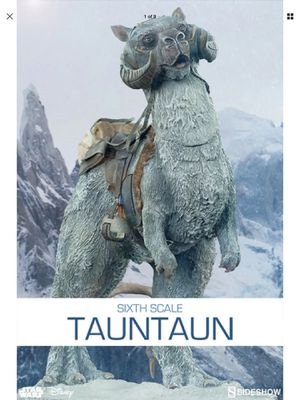 Sideshow Collectibles Star Wars The Empire Srikes Back Hoth Tautaun 1/6 Scale Statue for Sale in Lakewood, CA