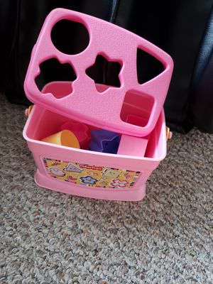 Free Fisher Price baby blocks for Sale in San Jose, CA