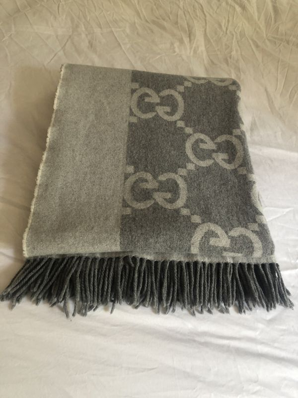 Authentic Gucci throw blanket