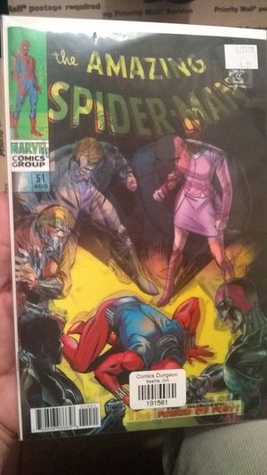 Amazing Spiderman lenticular reprint of #51 for Sale in Poway, CA