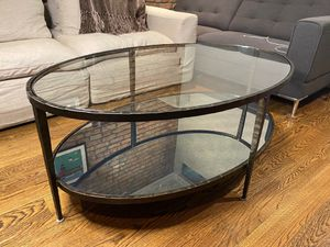 Restoration Hardware Coffee Table! Great condition, mirrored bottom layer! for Sale in New York, NY
