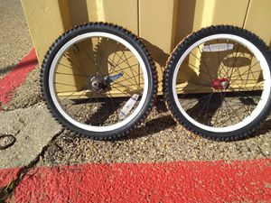 Bmx custom tire and rim for Sale in Irving, TX