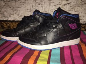 Air Jordan 1 SIZE 9 black,fire pink,and photo blue for Sale in Springfield, VA