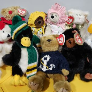 Ty Beanie Babies 1993 Attic Treasure Collection Set Of 9 for Sale in Norwalk, CA