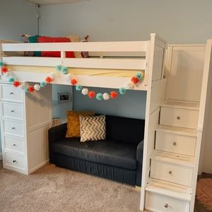 Premium Loft Bed for Teen for Sale in Naperville, IL