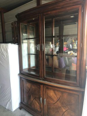 Large china cabinet for Sale in Spring, TX