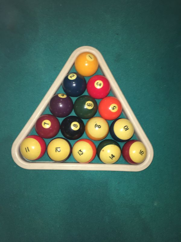 8-Ball Pool table